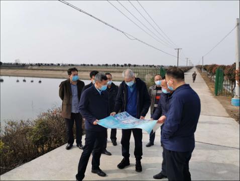 省政协人资环委副主任黄加忠赴益阳调研大通湖流域水环境综合治理