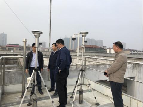 湖南省beplay软件下载ios监测中心督导南县大气污染防治工作