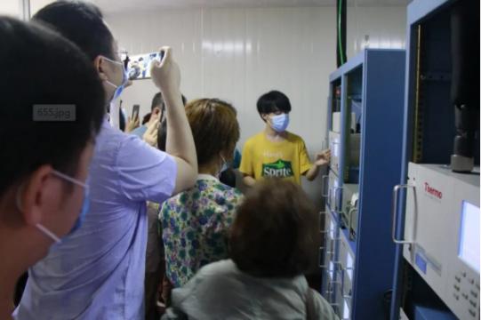 湖南省常德beplay软件下载ios监测中心举办环保设施公众开放日活动