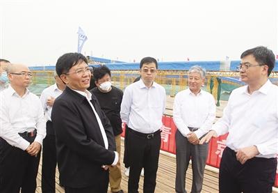 beplay软件下载ios部党组书记赴河北省调研环境保护工作